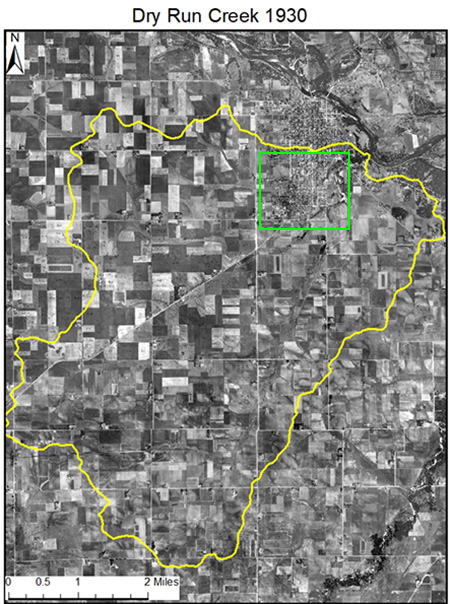 Cedar 1930 (green square) vs 2017